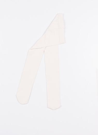 Katia & Bony Family Bebek Basic Külotlu Çorap  Beyaz